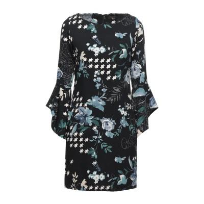 FLY GIRL ミニワンピース&ドレス ブラック S ポリエステル 100% ミニワンピース&ドレス
