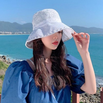 レース帽子 レディース ハット 女優帽 日よけ帽子 UVカット レディース 紫外線対策 熱中症予防 旅行用 夏用 小顔効果抜群 日よけ UV対策 小顔効果 折りたたみ おしゃれ シンプル