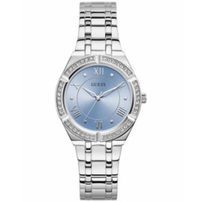 ゲス レディース 腕時計 アクセサリー Women's Stainless Steel Bracelet Watch 36mm Silver-tone