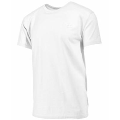 チャンピオン メンズ Tシャツ トップス Men's Cotton Jersey T-Shirt White