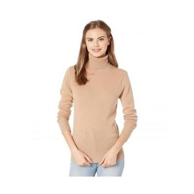 EQUIPMENT イクイップメント レディース 女性用 ファッション セーター Delafine Turtleneck - Camel