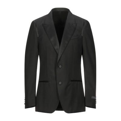 ランバン LANVIN テーラードジャケット ブラック 50 コットン 100% テーラードジャケット