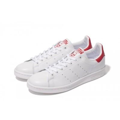 adidas【アディダス】 Stan Smith レディース&メンズ スタンスミス 【M20326】 ホワイト/レッド