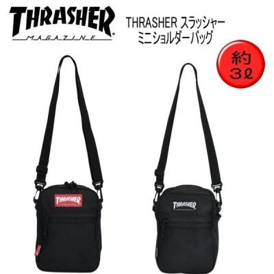 THRASHER スラッシャー  ミニショルダー 3L ミニショルダーバッグ ショルダー ショルダーバッグ THRSG123 TH-073