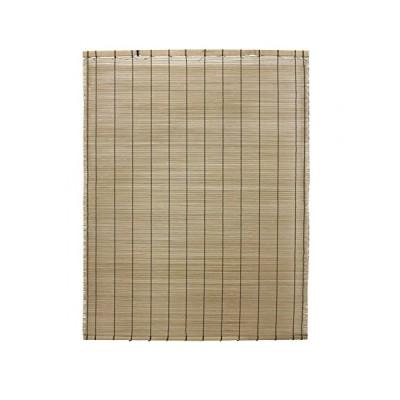 水勘製簾所 室内用 焼き竹すだれ ナチュラル 特大 約幅88×長さ180cm 風通し抜群 日差し除け 目かくしに