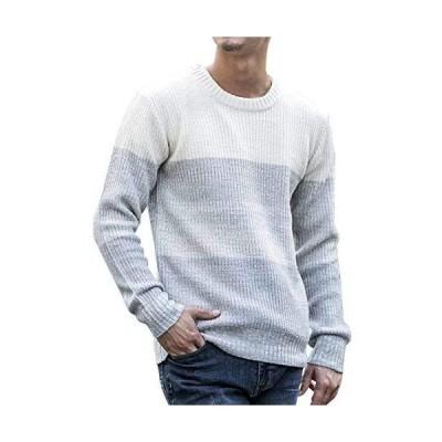 (アドミックス アトリエサブメン) ADMIX ATELIER SAB MEN メンズ ニット セーター 畦編み クルーネック セーター 0