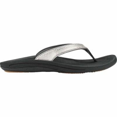 オルカイ OluKai レディース サンダル・ミュール シューズ・靴 Kulapa Kai Sandal Silver/Black
