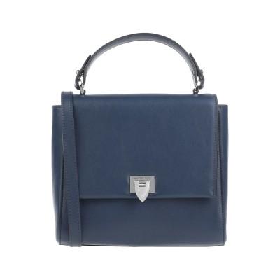 フィリップ モデル PHILIPPE MODEL ハンドバッグ ダークブルー 革 ハンドバッグ