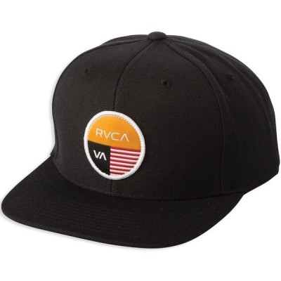 RVCA Diagram Snapback Hat Cap Black キャップ 送料無料