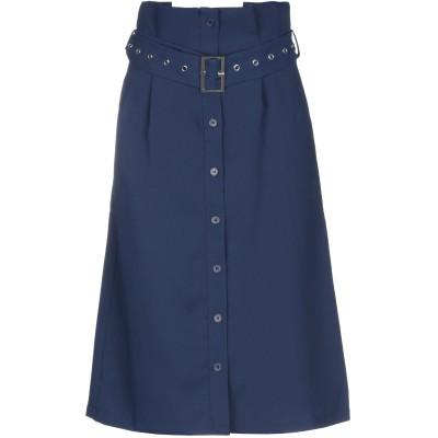 NA-KD 7分丈スカート ダークブルー 34 ポリエステル 100% 7分丈スカート