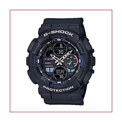 特別価格レディース カシオ G-Shock Sシリーズ ブラック樹脂バンドウォッチ GMAS140-1A好評販売中