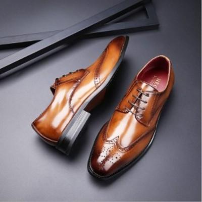 ビジネスシューズ 革靴 シューズ メンズ 紳士靴 カジュアル 軽量 履きや すい 高級感