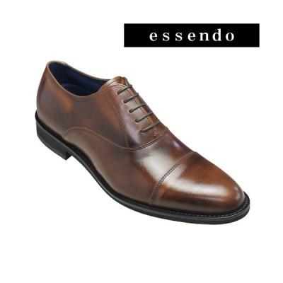 ケンフォード ビジネスシューズ ストレートチップ 1E KN66 ブラウン KENFORD メンズ 靴