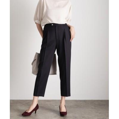 ViS / 【低身長/高身長向けサイズ対応】【EASY CARE】【セットアップ対応】ドット釦テーパードパンツ WOMEN パンツ > パンツ