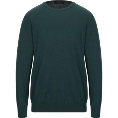 リウジョー LIU JO MAN メンズ ニット・セーター トップス sweater Dark green