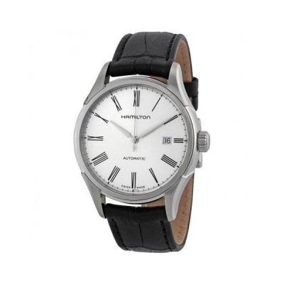 Valiant Silver Dial Leather Strap Men's Watch