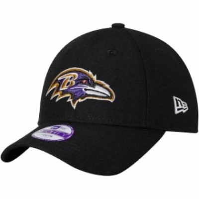 New Era ニュー エラ スポーツ用品  New Era Baltimore Ravens Youth Black League 9FORTY Adjustable Hat