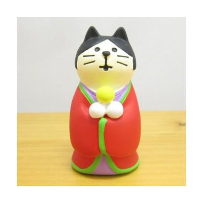 デコレ コンコンブル お月見 竹の湯温泉 月夜のおもてなし かぐや姫猫 DECOLE concombre 十五夜 雑貨 オブジェ 置物 インテリア雑貨 コレクション
