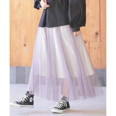 スカート ラメチュールスカート