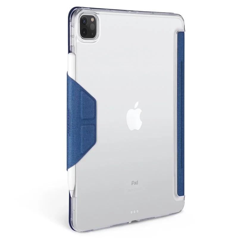 JTLEGEND 皮套 iPad Pro 2020 Amos 11 吋 / 12.9 吋 相機快取多角度折疊布紋 磁扣款