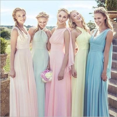ブライズメイド ドレス パーティードレス 安い 可愛い 結婚式 披露宴 発表会 華やか ロングドレス フォーマル
