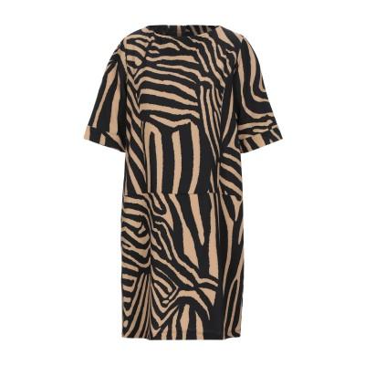 ANGELA MELE MILANO ミニワンピース&ドレス サンド S ポリエステル 100% ミニワンピース&ドレス
