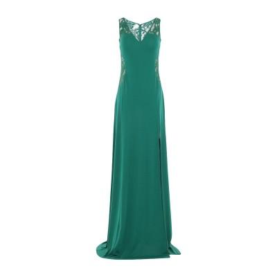 SOANI ロングワンピース&ドレス グリーン 44 ポリエステル 100% ロングワンピース&ドレス