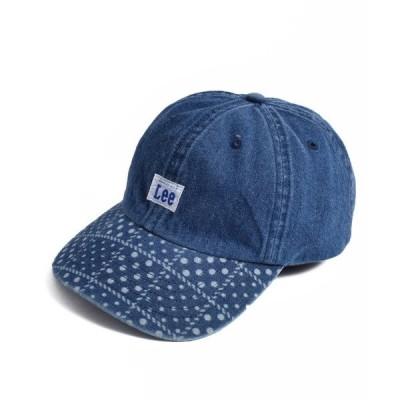 帽子 キャップ 【Lee】 LOW CAP DENIM LASER/【リー】