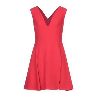 VERSACE ミニワンピース&ドレス レッド 44 アセテート 74% / EcoVero™ レーヨン 26% ミニワンピース&ドレス