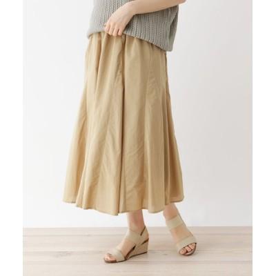 SHOO・LA・RUE / コットンギャザーフレアスカート WOMEN スカート > スカート