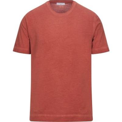 ボリオリ BOGLIOLI メンズ Tシャツ トップス t-shirt Orange