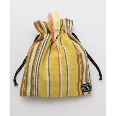 (CAYHANE/チャイハネ)【チャイハネ】ティパール巾着バッグ NQTP1108/レディース イエロー