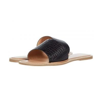 Chinese Laundry チャイニーズランドリー レディース 女性用 シューズ 靴 サンダル Regina - Black Croco Leather