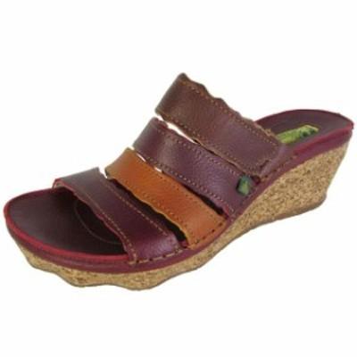 El Naturalista エルナチュラリスタ ファッション サンダル El Naturalista Women n402 Cork Oak Wedge Sandals