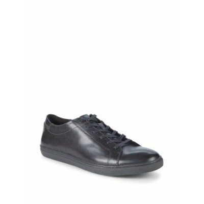 ケネスコール メンズ スニーカー Kam Leather Low Top Sneakers