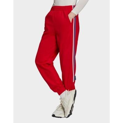 アディダス adidas Originals レディース スウェット・ジャージ ボトムス・パンツ red