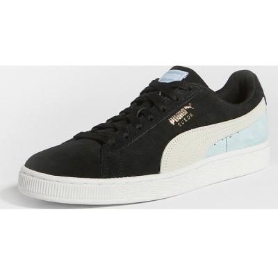 (取寄)プーマ セレクト スエード クラシック スニーカー PUMA Select Suede Classic Sneakers PumaBlack PumaWhite Aquamari