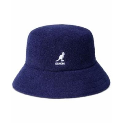 カンゴール メンズ 帽子 アクセサリー Men's Bermuda Terry Bouclé Bucket Hat Navy
