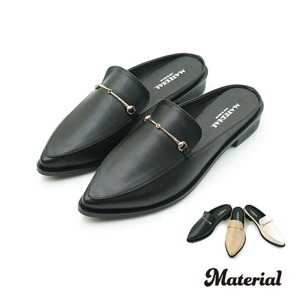 懶人鞋 小銜扣尖頭穆勒鞋  T2051