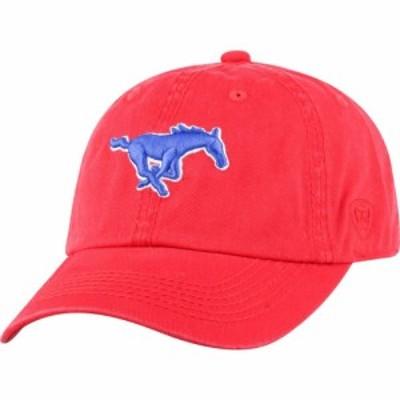 トップオブザワールド Top of the World メンズ キャップ 帽子 Southern Methodist Mustangs Red Crew Adjustable Hat