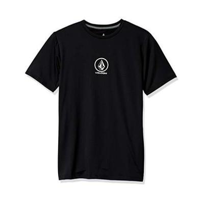 [ボルコム] [メンズ] 半袖 ラッシュガード Tシャツ 速乾 (UVカット UPF50+)[ N0102000 / JPN WAVE SS ] 海