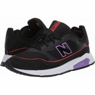 ニューバランス New Balance Classics レディース スニーカー シューズ・靴 X-Racer Black/Neo Violet