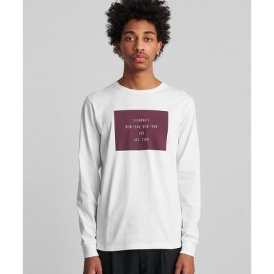 tシャツ Tシャツ Established Box Long Sleeve T-Shirt