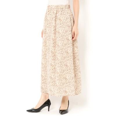【テチチ/Te chichi】 レオパードギャザースカート