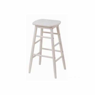 アイネリノ ine reno ハイスツール(high stool) ホワイト W340×D340×H600 (mm) INS-2824WH 1台
