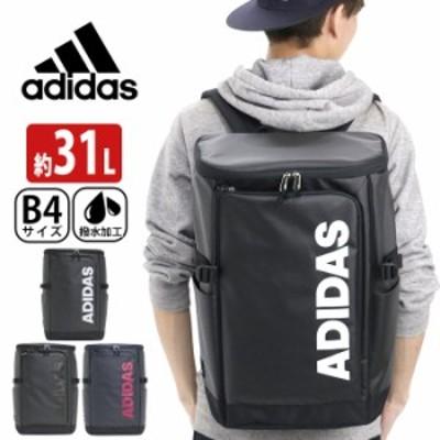 リュック adidas アディダス リュックサック バックパック スクエア デイパック バック ビッグロゴ ロゴ メンズ レディース 通学 通学用