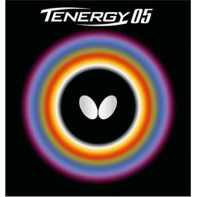 Butterfly(バタフライ) 卓球 ガツト・ラバー テナジー・05 メンズ・レディース 【レッド】 05800 006