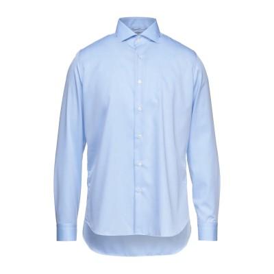 UNGARO シャツ スカイブルー 42 コットン 100% シャツ