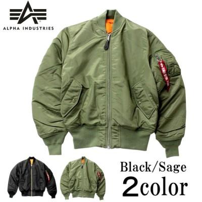 アルファインダストリーズ MA-1フライトジャケット ALPHA INDUSTRIES ブラック/エマージェンシーオレンジ S/M/L mjm21000c1-001-s 母の日