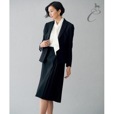 (JIYU-KU/ジユウク)【Class Lounge】イタリア G.B.CONTE スカート(検索番号Y2/レディース ネイビー